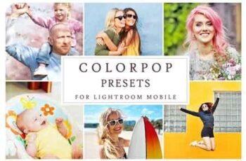 Lightroom Mobile COLORPOP PRESETS 3405174 4