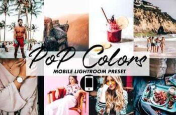 Mobile Lightroom Preset POP COLORS 3395808 7