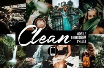 Mobile Lightroom Preset CLEAN 3418604 6