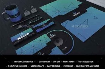 Blue Corporate Stationary Identity 22941625 4