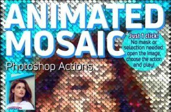 Animated Mosaic Photoshop Actions 23105461 5