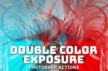 Double Color Exposure Actions Ver 1 20474909