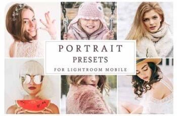 Lightroom Mobile PORTRAIT PRESETS 3405200 6