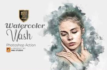 Watercolor Wash Photoshop Action 2 3404699 4