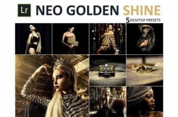 Neo Golden Shine Desktop Lightroom Presets 3