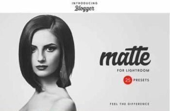 Matte Blogger Lightroom & ACR Presets 22422921 6