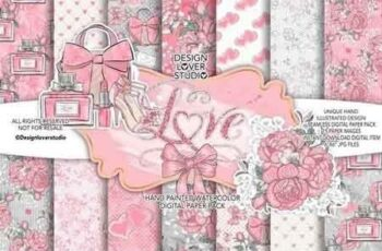 Loving Heart digital paper pack 176718 3