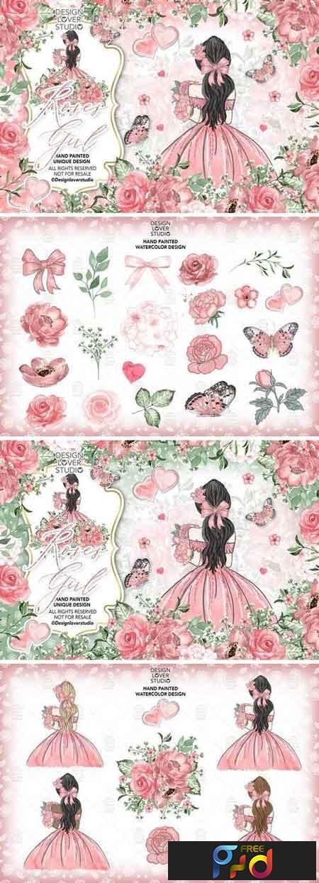 Roses Girl design 176719 1