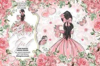 Roses Girl design 176719 11