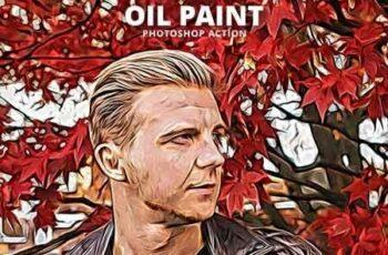 Oil Paint Photoshop Action 23114073 6