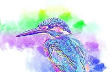 Watercolor Wash Photoshop Action vl 2 23118052 7