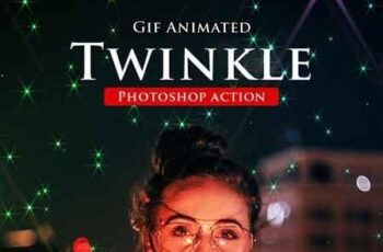 Gif Animated Twinkle Photoshop Action 23135654 5