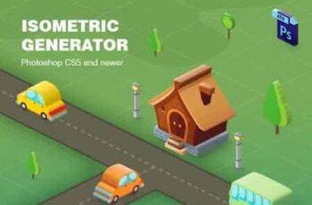 Isometric Generator 23208966 7
