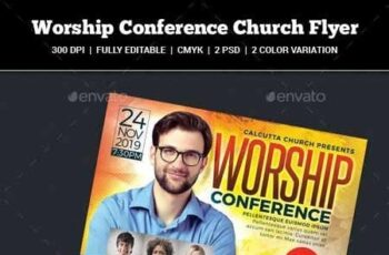 Worship Conference Church Flyer 22337102 4