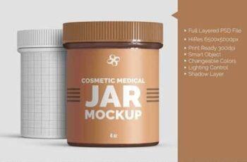 Cosmetic Medical 4oz Jar Mockup 2747685 8