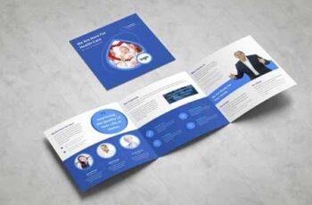 Medical Square Tri fold Brochure 3378797 8