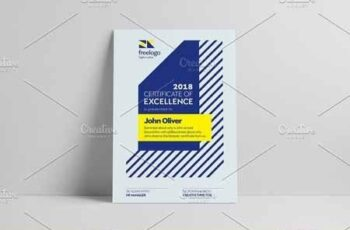Modern Certificate Design Template 2608236 3