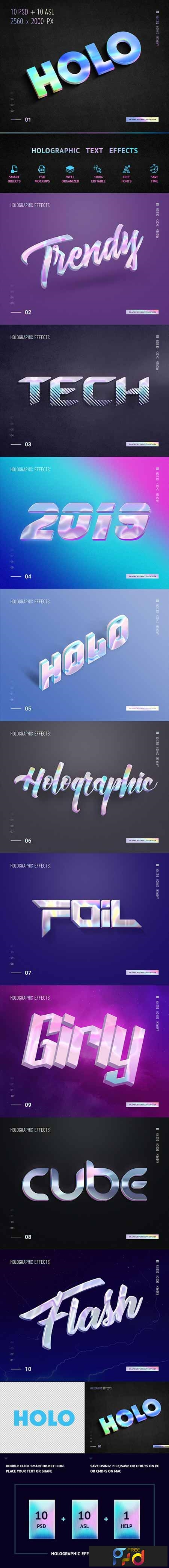 Holographic Text - 10 PSD 23178255 1