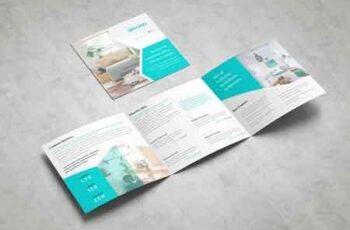Business Square Tri fold Brochure 3378786 3