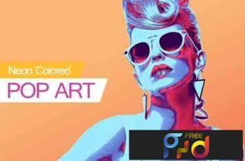 Neon Colored POP ART 3303295 5