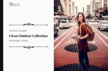 Neo Clean Outdoor Color Grading photoshop actions 6