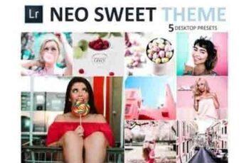 Neo Sweet Theme Desktop Lightroom Presets 2