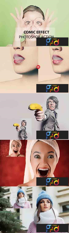 Comic Effect Photoshop Action 3169035 1