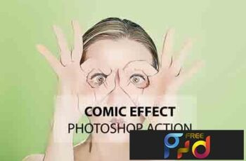 Comic Effect Photoshop Action 3169035 3
