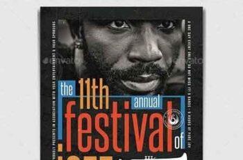 Jazz Festival Flyer Template V10 23202196 8