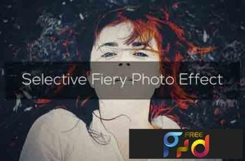 Selective Fiery Photo Effect 3296978 3