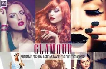 Glamour Fashion Photoshop Actions 23156099 5