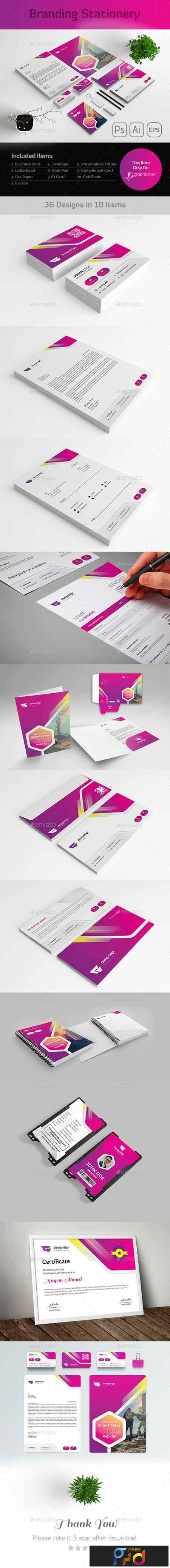 Branding Stationery Template 23158877 1