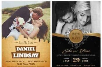 Wedding Invitation Card Bundle 23165580 5