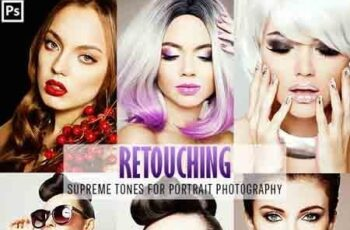 Retouching One Click Photoshop Action 23152811 6
