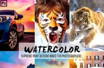 Watercolor Photoshop Actions 23156103 2