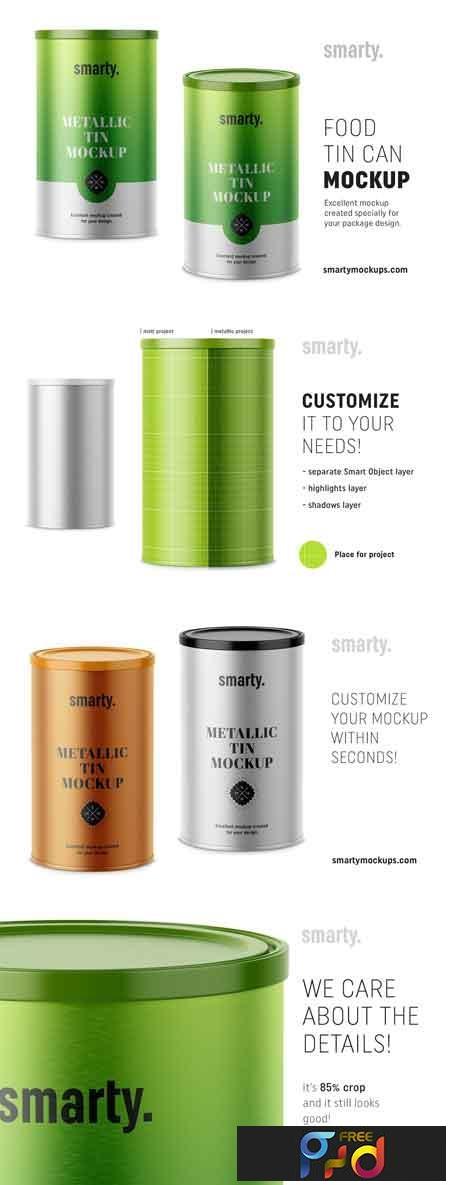 Metallic tin can mockup 3395106 1