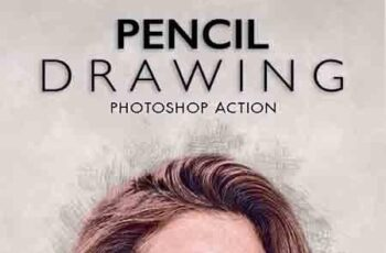 Pencil Drawing Photoshop Action 23225555 7