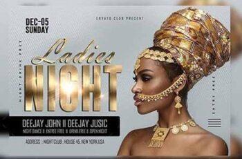 Ladies Night Club Flyer 23152761 8