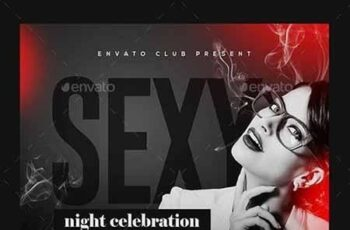 Ladies Night Club Flyer 23153328 5
