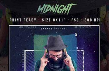 MidNight Club Party Flyer 23164022 1
