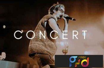 Cinematic Moody Concert LR Presets 3490627 2