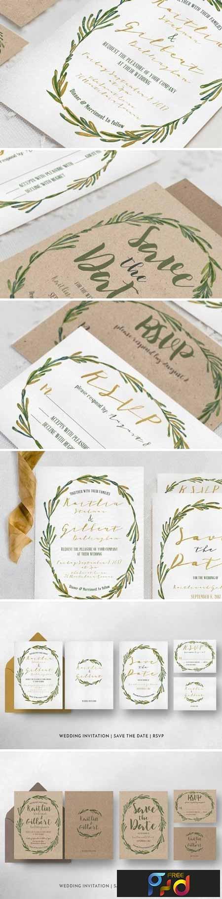Elegant Wreath Wedding Suite 723945 1