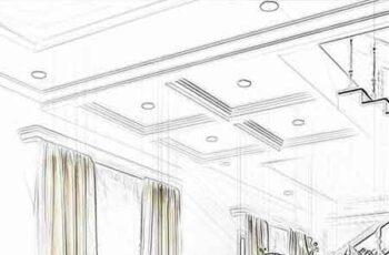 Architexign - Modern Sketch Art PS Action 23165483 2