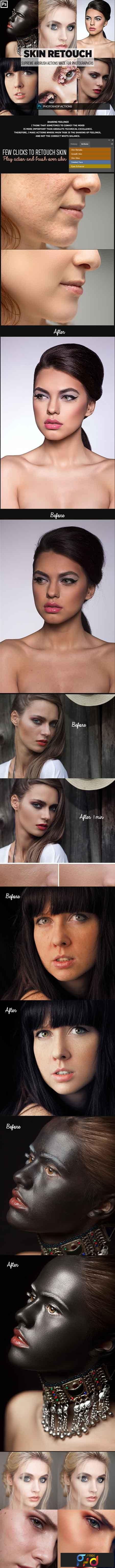 Easy Skin Retouch Photoshop Actions 23160423 - FreePSDvn