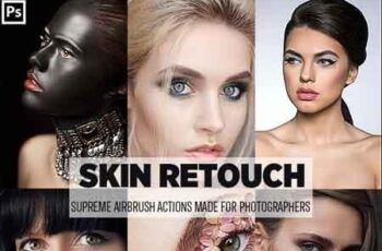 Easy Skin Retouch Photoshop Actions 23160423 3