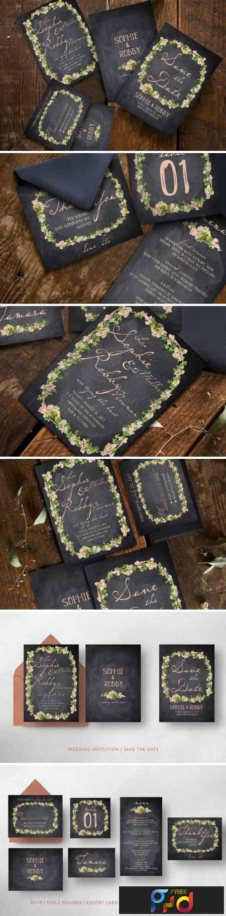 Vintage Flower Wedding Suite 847414 1