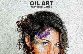 Oil Art Photoshop Action 23178009 5