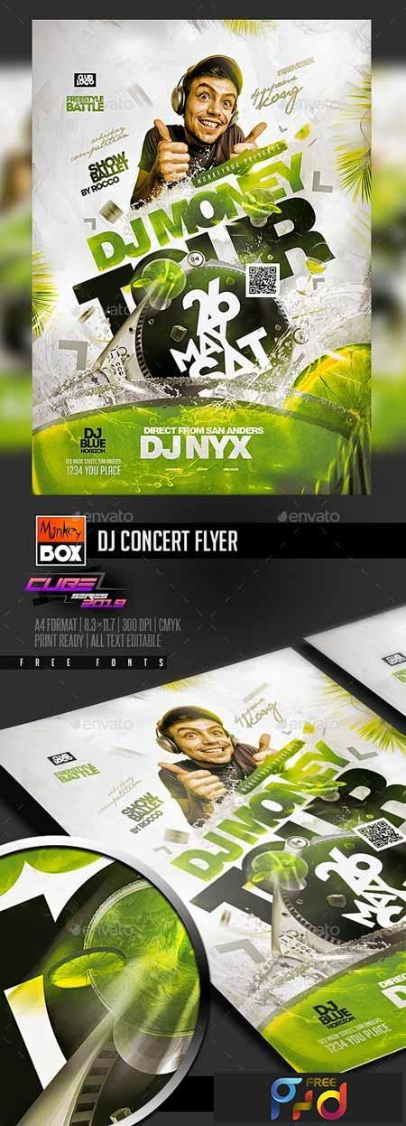 Dj Concert Flyer 23166672 1