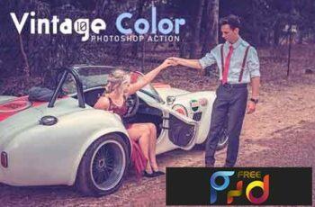 10 Vintage Color Photoshop Action 3531734 6