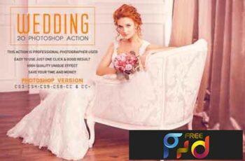 20 Wedding Photoshop Action 3531544 6